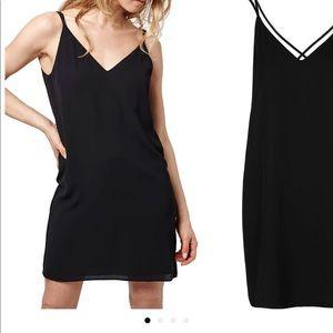 Topshop Crisscross Slip Dress
